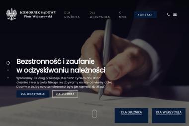 Komornik Sądowy Przy Sądzie Rejonowym W Wejherowie Piotr Wojnarowski - Prawo gospodarcze Dębogórze