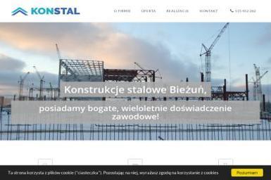 KONSTAL Tomasz Leśniewski - Hale Magazynowe Bieżuń