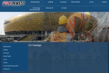 Proinwest Sp. z o.o. Sp. k. - Zbrojarz Tczew