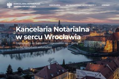 Simona Krukowska Notariusz Wrocław, Kancelaria Notarialna - Notariusz Wrocław
