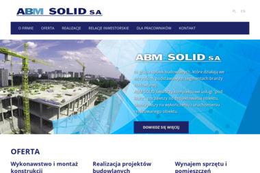 ABM SOLID S.A. - Maszyny Budowlane Tarnów