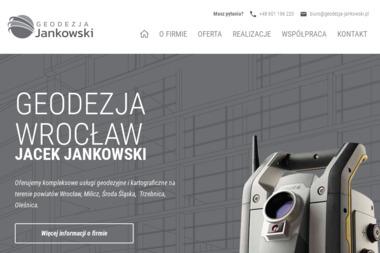 Geodezja Jacek Jankowski - Geodeta Wrocław