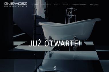 Gniewosz Instytut Wnętrz - Wyposażenie łazienki Bolesław
