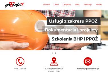 PHU GO-SAFE - Szkolenia BHP Lublin