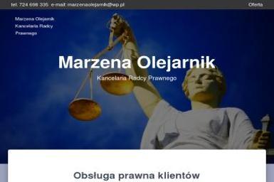 Radca Prawny Marzena Olejarnik - Radca prawny Kudowa Zdrój