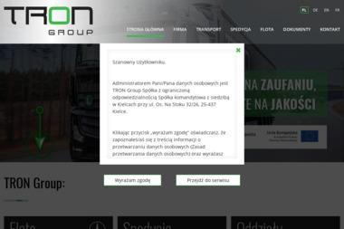 Tron Group sp.z.o.o sp.k - Transport Kielce