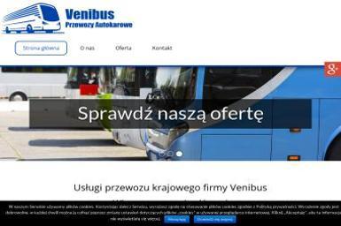 Venibus Wachecki Konrad - Przewóz osób Częstochowa