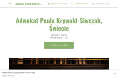 Adwokat Paula Krywald-Siwczak - Sprawy Rozwodowe Świecie