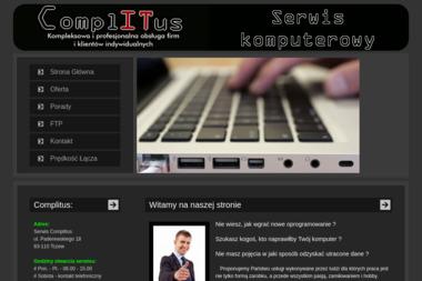 FHU COMPLITUS Marek Portjanko - Instalacja Anten Satelitarnych Tczew