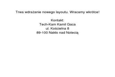 Tech-Kam Kamil Gaca - Projektowanie CAD/CAM/CAE Nakło nad Notecią