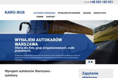 Karo - Bus Przewóz Osób Dariusz Szpakowski - Wypożyczalnia samochodów Ząbki