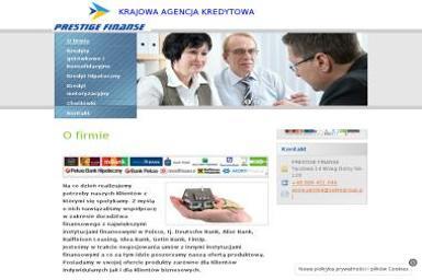 Prestige Finanse Anna Jańska - Kredyt hipoteczny Milicz