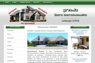 BIURO NIERUCHOMOŚCI GRENDA KŁODZKO - Agencja nieruchomości Kłodzko