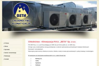 Chłodnictwo-Klimatyzacja PHU BETA Sp. z o.o. - Klimatyzacja Olsztyn