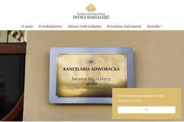 Adwokat Iwona Mastalerz - Prawo Karne Nowy Sącz