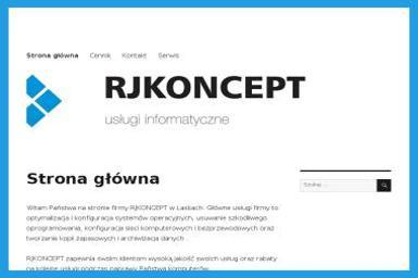 RJKONCEPT Usługi informatyczne - Firma IT Laski