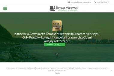 Tomasz Makowski, Kancelaria Adwokacka - Adwokat Gdynia