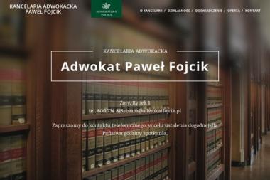 Kancelaria Adwokacka Adwokat Paweł Fojcik - Adwokat Żory
