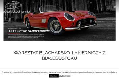 Warsztat blacharsko-lakierniczy Białystok - Autoblacharnia Spectrum - Obróbki blacharskie Białystok