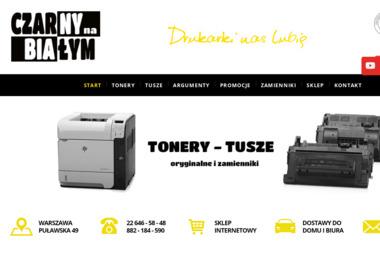Czarny Na Białym - Ksero Warszawa