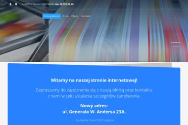 Drukarnia Grezof 2015 - Druk Naklejek Legnica
