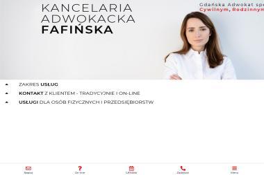 Kancelaria Adwokacka Dominika Fafińska - Radca Prawny Gdańsk
