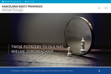 Kancelaria Radcy Prawnego Michał Chorąży - Prawo gospodarcze Warszawa