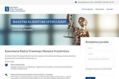 Kancelaria Radcy Prawnego Natasza Przydróżna - Adwokat Zielona Góra