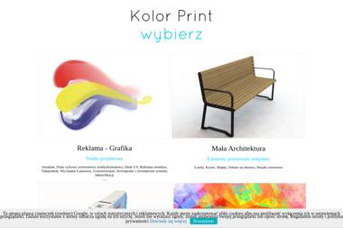 Kolor Print s.c. Grażyna Marek Olszowscy - Materiały reklamowe Mielec