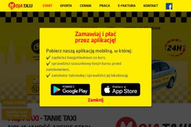 Moja Taxi Sp. z o.o. - Firma transportowa Białystok