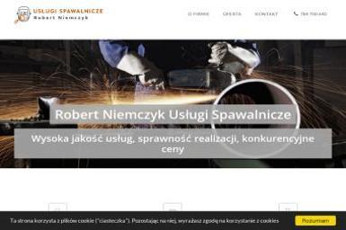 Robert Niemczyk Usługi Spawalnicze - Spawacz Łukowe