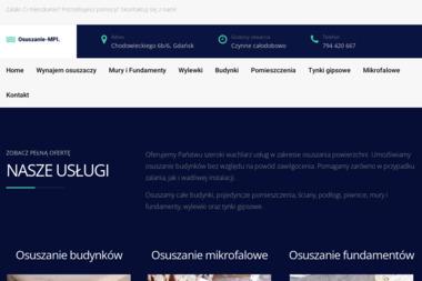 Osuszanie MPI - Osuszanie Gdańsk