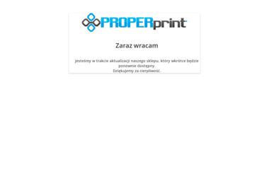 PROPERART - Drukarnia Częstochowa