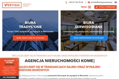 Vertigo Property Group - Biuro do wynajęcia Warszawa