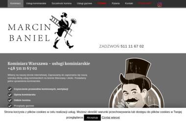 Marcin Baniel Zakład Usług Kominiarskich - Chemiczne Czyszczenie Komina Warszawa
