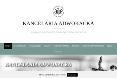 Kancelaria Adwokacka Aleksandra Krawczyk-Głowacka - Prawo pracy Toruń