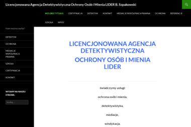 """Licencjonowana Agencja Detektywistyczna Ochrony Osób i Mienia """"LIDER"""" - Usługi Prawne Raszyn"""