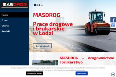 MASDROG Sp. z o.o. - Od艣nie偶anie dróg i placów 艁ód藕