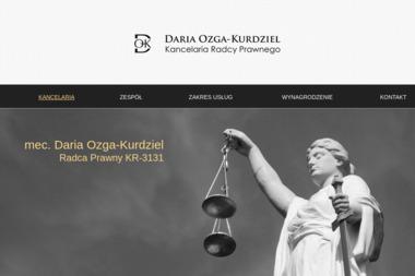 Kancelaria Radcy prawnego Daria Ozga-Kurdziel - Radca prawny Chrzanów
