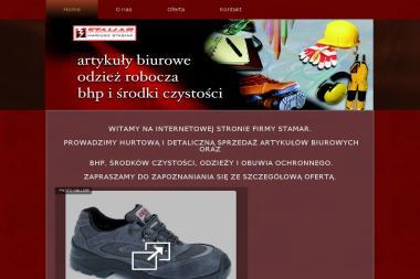 STAMAR Mariusz Stasiak - Ubrania Robocze Popów