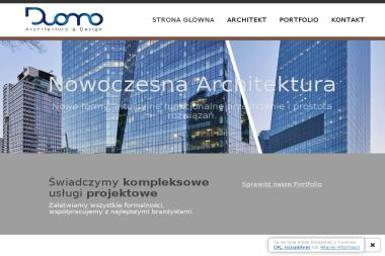 Pracownia Architektoniczna Duomo, Dawid Sobestjański - Firmy inżynieryjne Pogorzelica