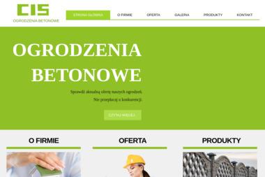 Konrad Malinowski - Ogrodzenia betonowe Stary Kisielin