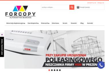 ForCopy Paweł Kuczyński - Serwis sprzętu biurowego Warszawa