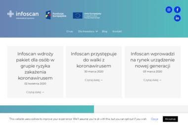 Infoscan S.A. - Sprzęt rehabilitacyjny Warszawa
