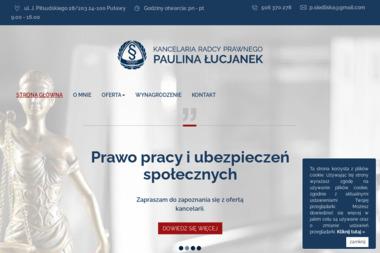 Kancelaria Radcy Prawnego Paulina Siedliska - Prawo Puławy