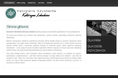 Kancelaria Adwokacka adw. Katarzyna Łobodziec - Adwokat Lubin