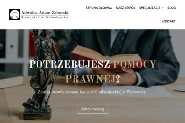 Kancelaria Adwokacka Adwokat Adam Zaborski - Pisma, wnioski, podania Warszawa
