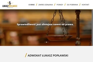 Kancelaria Adwokacka Adwokat Łukasz Popławski - Ściąganie Należności Inowrocław