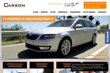 """""""CARSON"""" Anna Kaczmarek - Wypożyczalnia samochodów Kalisz"""