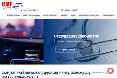 Agecja Ubezpieczeniowa CMF - Ubezpieczenie firmy Częstochowa